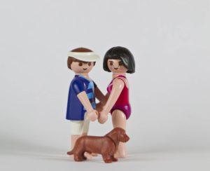 Figurines en latex