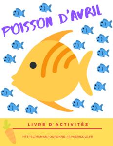 Cahier d'activités Poisson d'avril à imprimer (1)